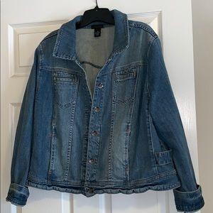 LB Sz 20 Jean Jacket